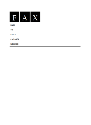 Fax cover sheet 5