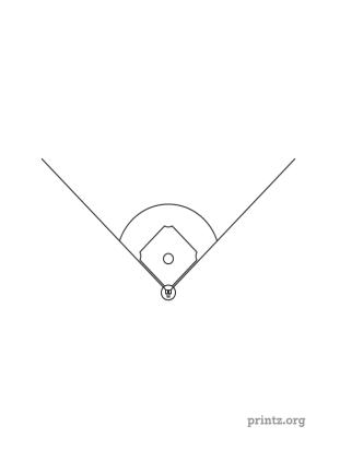 Printable Baseball Diagram
