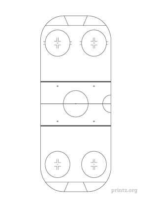 Hockey Rink Diagram