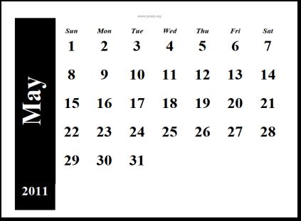 may calendar 2011 printable. may calendar 2011 printable.