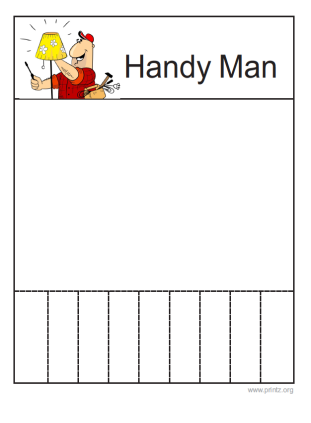 Handy Man Flyer