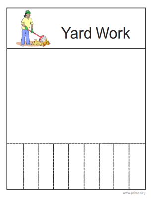 Yardwork Flyer