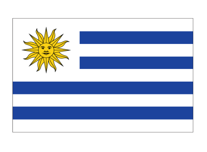 Uruguay Flag Free Colouring Pages Uruguay Flag Coloring Page