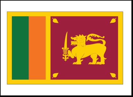 Sri Lanka Flag on Sri Lanka Flag