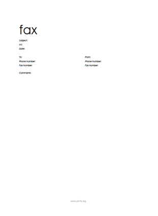 free fax cover sheet template printable fax cover sheet free fax free fax cover letter template