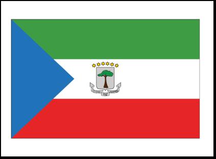 Equitorial Guinea Flag