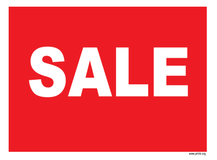 Business Sale Sign