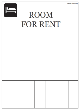 Room for Rent Flyer